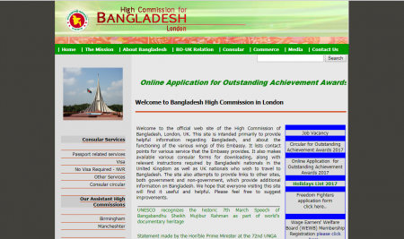 Bangladesh Embassy – London