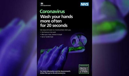 Wash your Hands for 20 Secs
